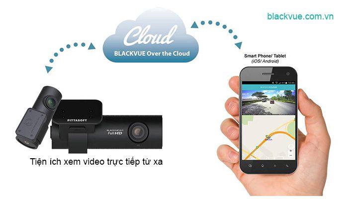 Blackvue cloud xem truc tiep tu xa 700x400 - BLACKVUE Over the cloud công nghệ xem videos trực tiếp từ xa