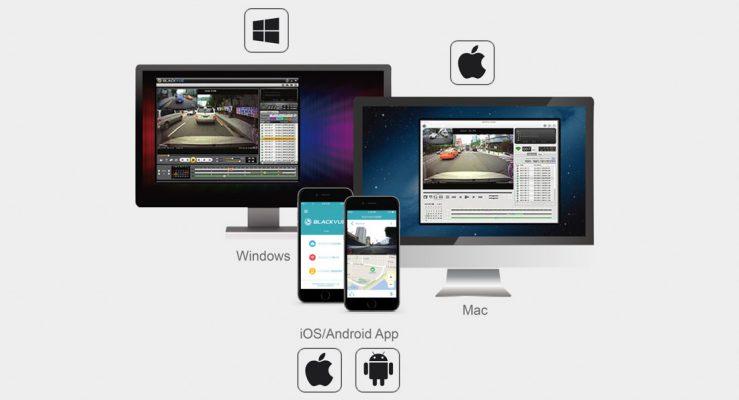 app viewer 739x400 - Camera hành trình ô tô Blackvue DR650S-2CH