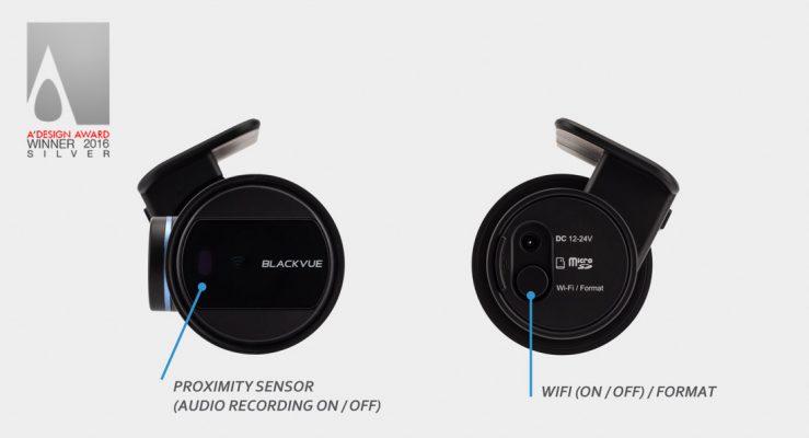 sleek design and control 1ch 739x400 - Camera hành trình ô tô Blackvue DR430-2CH