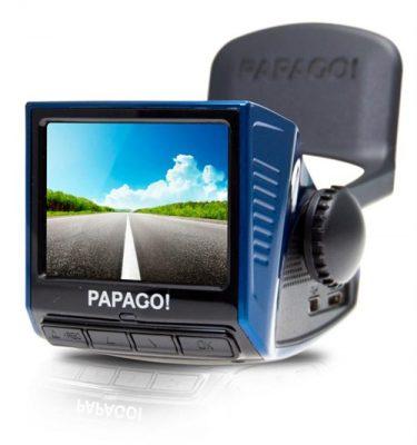 Papago P3 375x400 - 5 mẫu camera hành trình hoàn hảo cho xe hơi