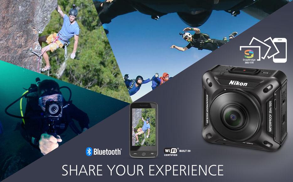Nikon Keymission 360 dấn thân vào thị trường camera hành trình