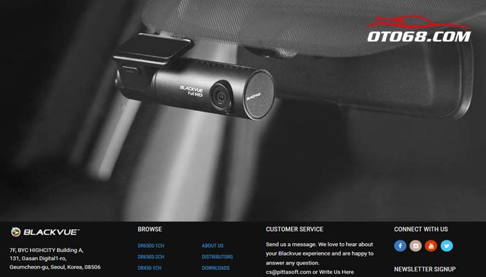BlackVue 450 1CH 01 - Lắp đặp camera hành trình ô tô tại tphcm
