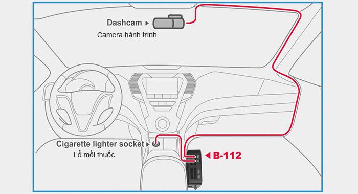 BlackVue B112 3 - Bộ nguồn dự phòng cho camera hành trình B112