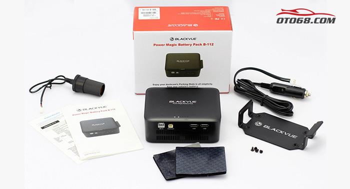 BlackVue B112 6 - Bộ nguồn dự phòng cho camera hành trình B112