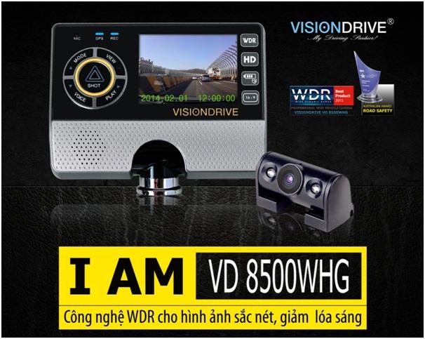 Camera hanh trinh VD 8500WHG1 - Lắp đặp camera hành trình ô tô tại tphcm