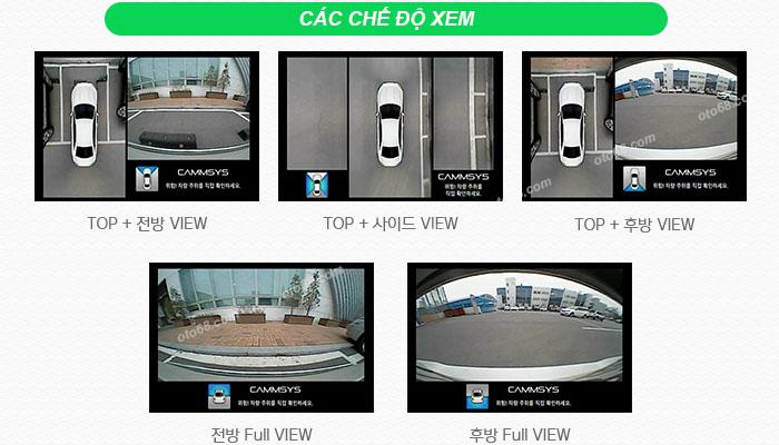 Cammsys AVM 200 01 - Camera 360 độ Cammsys AVM: đồ chơi cao cấp cho các dòng xe tại Việt Nam