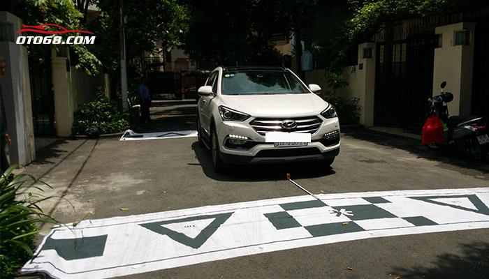 Hyundai santafe lap 360 Omnivue - Camera 3D Cao Cấp Hàn Quốc 360 OMNIVUE