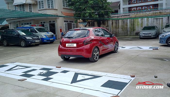 Peugeot 208 lap 360 Omnivue - Camera 3D Cao Cấp Hàn Quốc 360 OMNIVUE