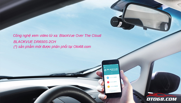 blackvue dr650s 2ch 02 - Lắp đặp camera hành trình ô tô tại tphcm
