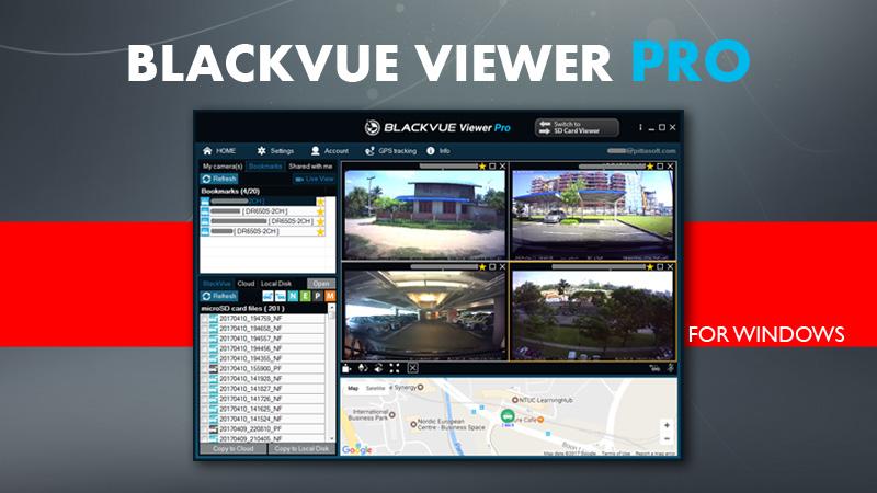 blackvue viewer pro cloud business account 2 - [Phiên bản phần mềm] BlackVue Viewer Pro dành cho Tài khoản Doanh nghiệp lưu trữ đám mây