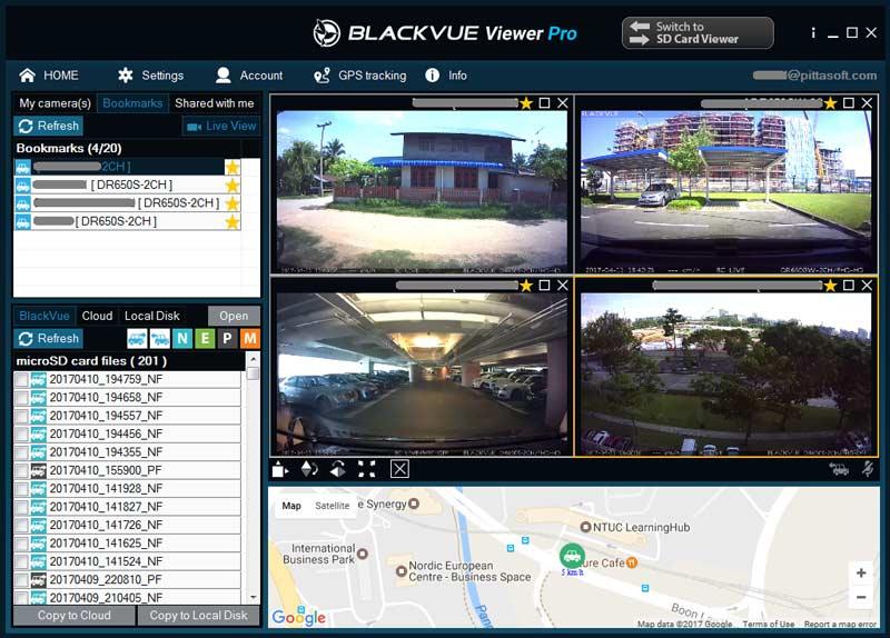 blackvue viewer pro cloud business account - [Phiên bản phần mềm] BlackVue Viewer Pro dành cho Tài khoản Doanh nghiệp lưu trữ đám mây