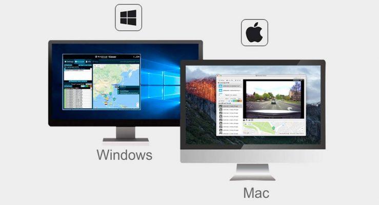 blackvue viewer windows mac os 739x400 - Camera hành trình ô tô Blackvue DR490L - 2CH