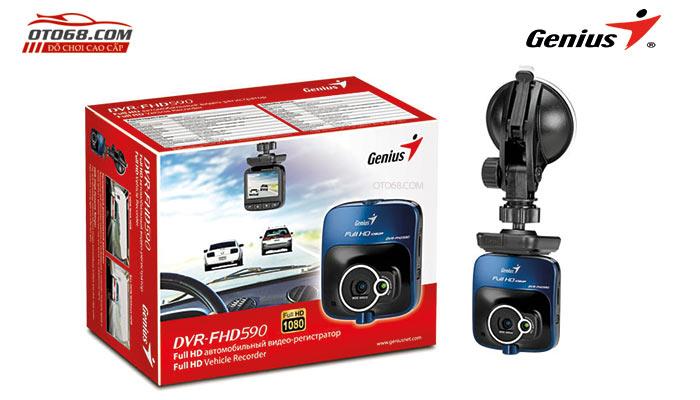 camera GENIUS FHD590 1 - Lắp đặp camera hành trình ô tô tại tphcm