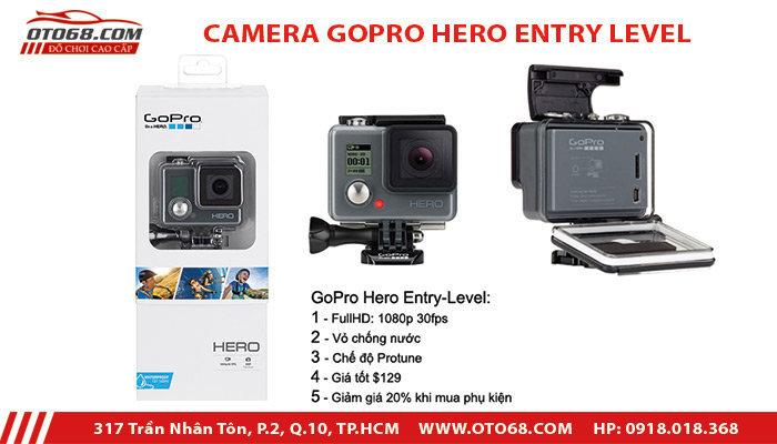 camera go pro entry level 1 - Lắp đặp camera hành trình ô tô tại tphcm