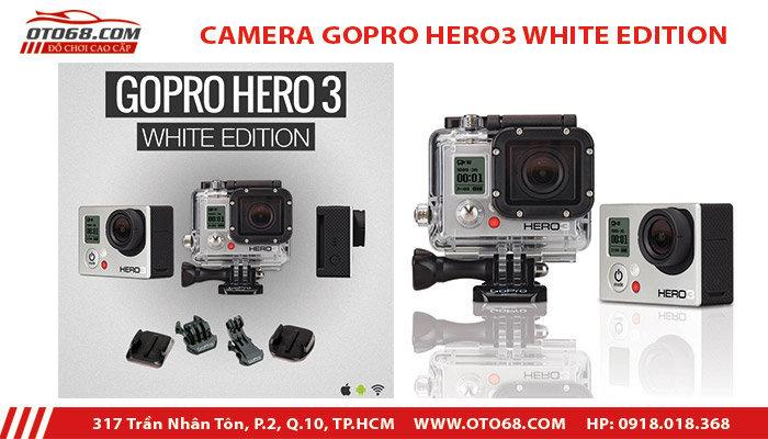camera go pro hero 3 white edition 2 - Lắp đặp camera hành trình ô tô tại tphcm