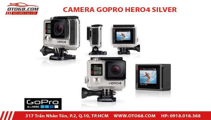 camera go pro hero 4 silver 1 - Lắp đặp camera hành trình ô tô tại tphcm