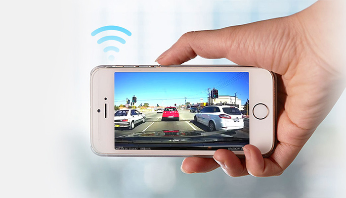 camera hanh trinh blackvue wifi oto68 1 - Lắp đặt camera hành trình ô tô tại quận 10