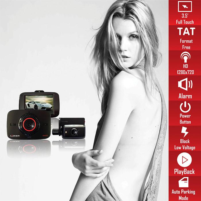 camera hanh trinh looker red 2 oto68 - Lắp đặp camera hành trình ô tô tại tphcm