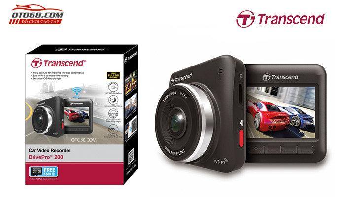 camera hanh trinh transcend 200 1 - Lắp đặp camera hành trình ô tô tại tphcm