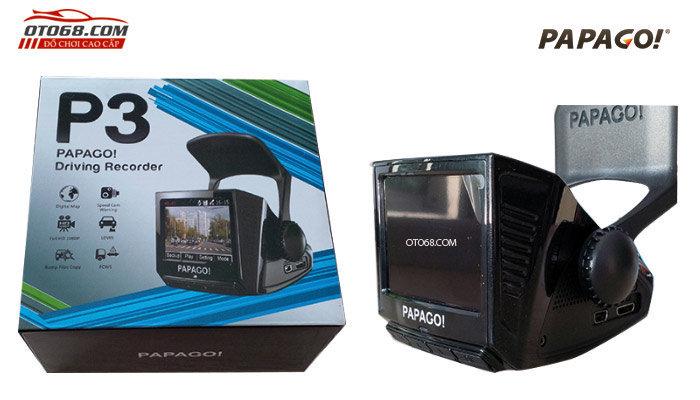 camera papago p3 1 - Lắp đặp camera hành trình ô tô tại tphcm