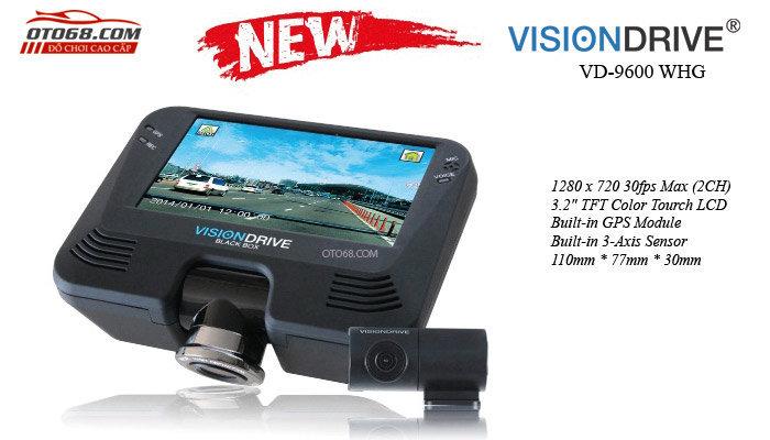 camera visiondrive 9600 basic 1 - Lắp đặp camera hành trình ô tô tại tphcm