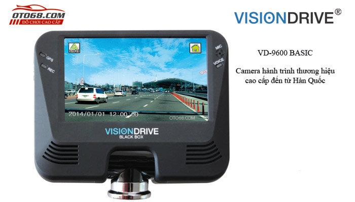 camera visiondrive 9600 basic 2 - Lắp đặp camera hành trình ô tô tại tphcm