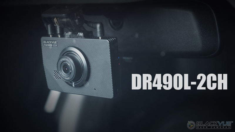 new lcd dashcam - Màn hình LCD của Dashcam DR490L-2CH đã xuất hiện