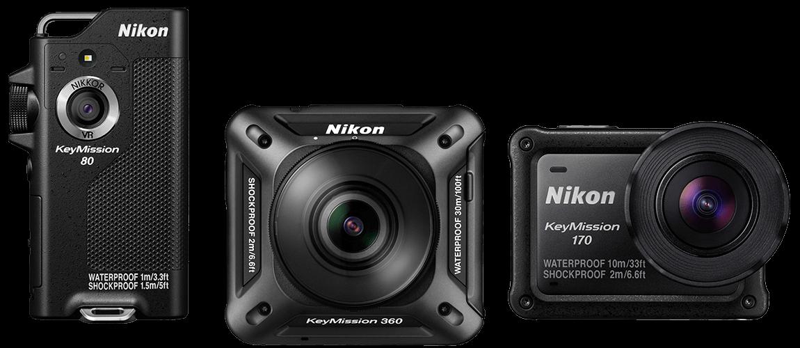nikon - Nikon Keymission 360 dấn thân vào thị trường camera hành trình