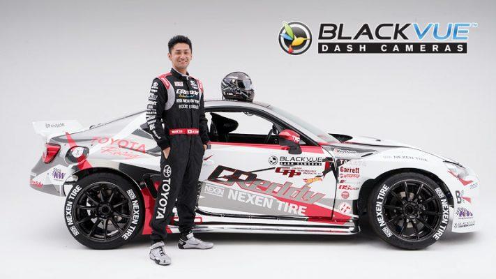 press release blackvue sponsors formula drift driver ken gushi greddy racing 711x400 - [Thông cáo Báo chí] BlackVue tài trợ cho Drift Driver Ken Gushi và GReddy Racing