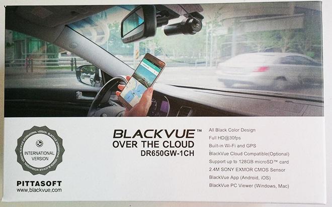 camera hanh trinh blackvue 650 10 - Lắp đặt camera hành trình ô tô tại huyện Bình Chánh