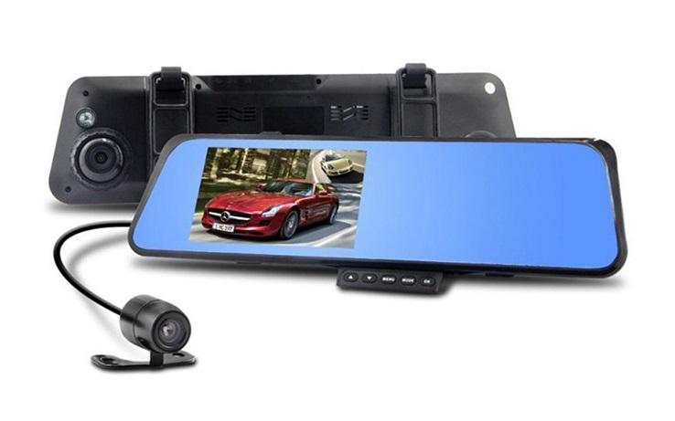 camera hanh trinh guong k8100 3in1 gia re hcm1 - Những điểm cần lưu ý khi chọn camera hành trình ô tô
