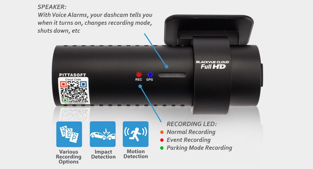 gmark vn camera hành trình hàn quốc dr650s1CH 2CH RECORDING 04 - Những thông số kỹ thuật của camera hành trình ô tô cần quan tâm (P2)