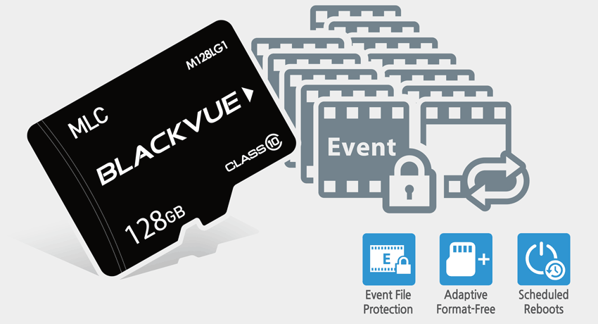 blackvue dash cam adaptive format free event file protection 1 - Camera hành trình ô tô Blackvue DR750X-1CH