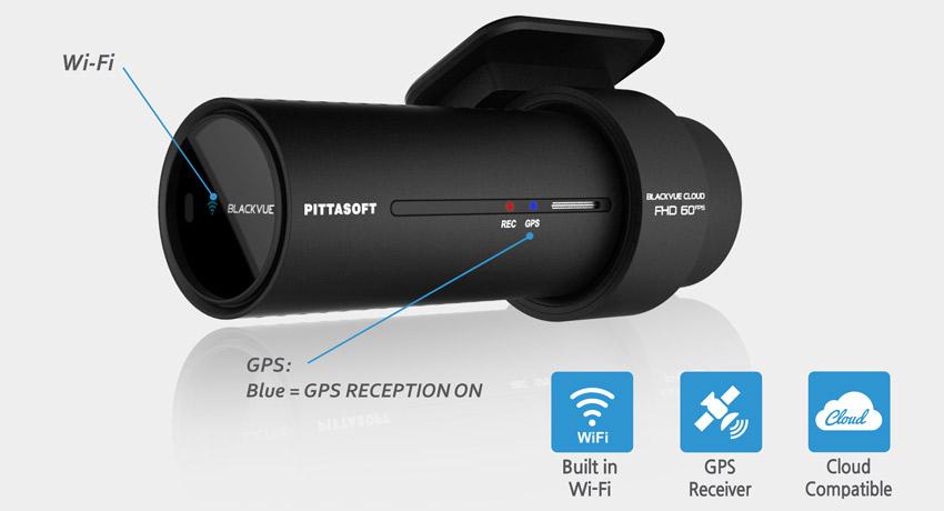 blackvue dash cam dr750s wi fi cloud gps - Camera hành trình Xe Tải cao cấp Blackvue DR750S-2CH TRUCK