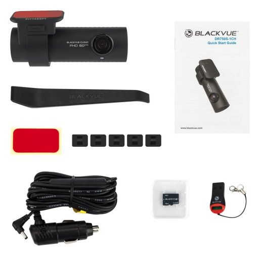 blackvue dr750s 1ch dash cam components 510x510 - Camera hành trình ô tô Blackvue DR750S-1CH