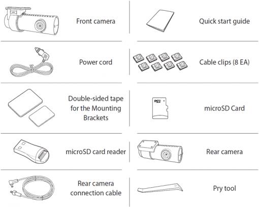 blackvue dr750s 2ch dash cam components 510x407 - Camera hành trình ô tô cao cấp Blackvue DR750S-2CH