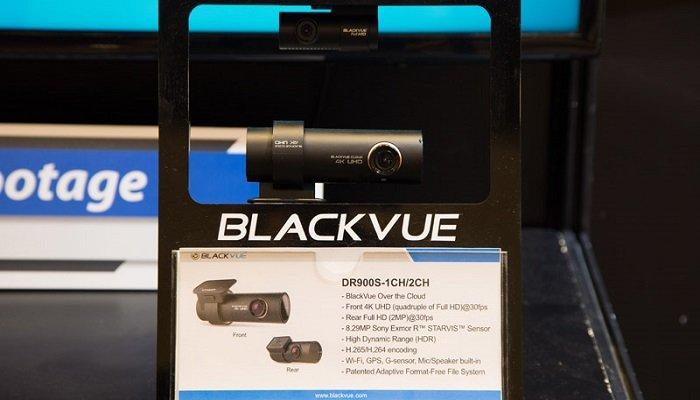 camera hanh trinh blackvue DR900S - Blackvue ra mắt sản phẩm camera hành trình DR900S – 2CH 4K tại SEMA 2017