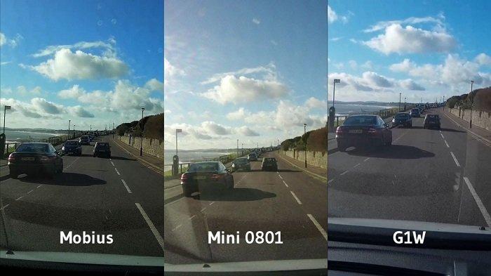 chat luong camera hanh trinh - Tại sao không nên dùng smartphone thay camera hành trình ô tô?