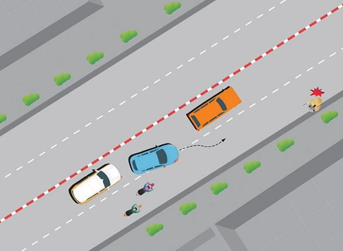 lai xe an toan - 4 điều cần lưu ý để lái xe an toàn trong khu vực đông dân cư, thành phố lớn