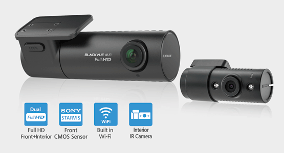 1 - Camera hành trình hồng ngoại wifi Blackvue DR590W-2CH IR