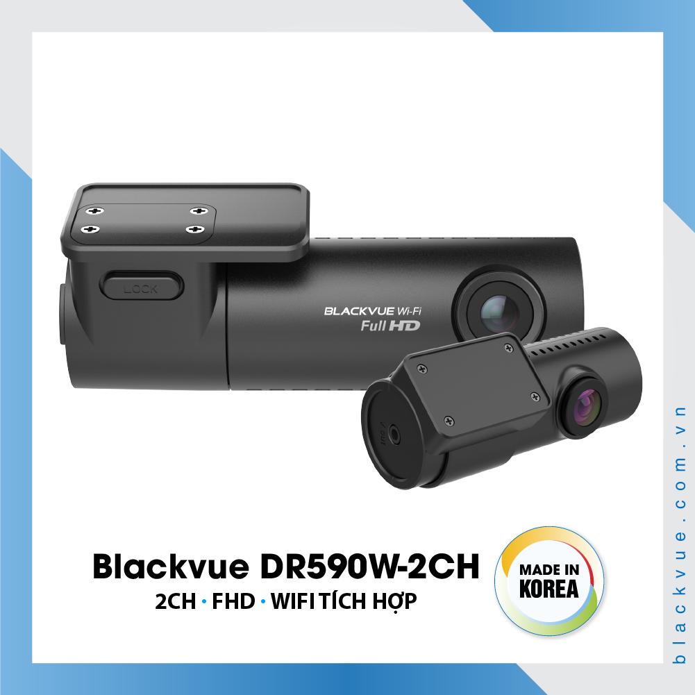 Blackvue DR590W 1000x1000 BlackVue DR590W 2CH 1 1 - Camera hành trình có wifi Blackvue DR590W-2CH