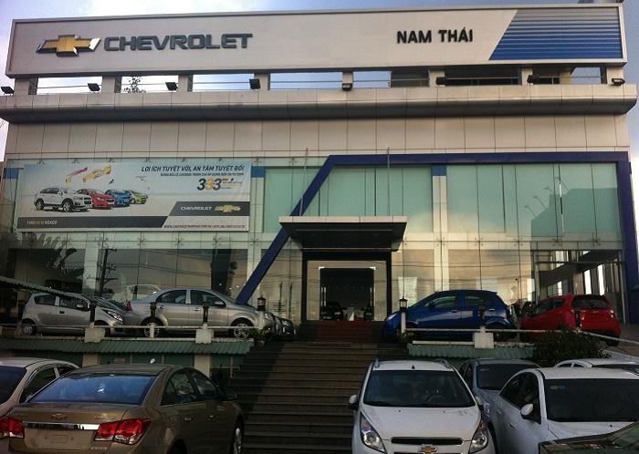 Chevrolet nam thai - Tổng hợp những địa chỉ mua xe ô tô uy tín tại TP.HCM và khu vực lân cận