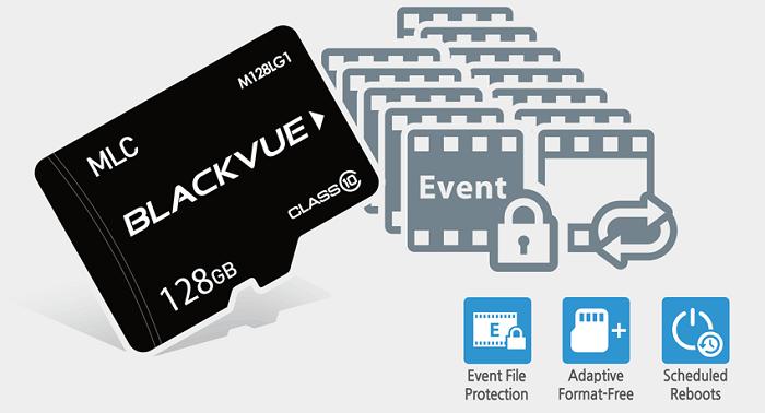 blackvue card - Sử dụng camera hành trình ô tô cần quan tâm điều gì?