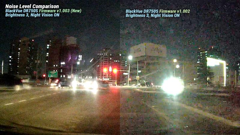 dr750s firmware 1.003 vs.1.002 noise comparison - [Cập nhật phần mềm] DR750S Series Phiên bản 1.003
