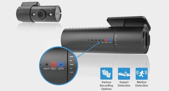 3 - Camera hành trình hồng ngoại wifi Blackvue DR590W-2CH IR