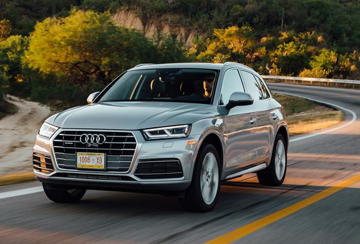 Audi Q5 2018 - Gợi ý những dòng xe hơi mới, tốt nhất năm 2018 cho mọi gia đình