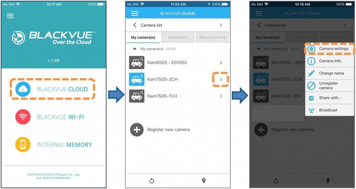 BlackVue Live Auto Upload 2 - [BlackVue Cloud] Hướng dẫn tính năng sử dụng tự động tải video về máy trực tiếp