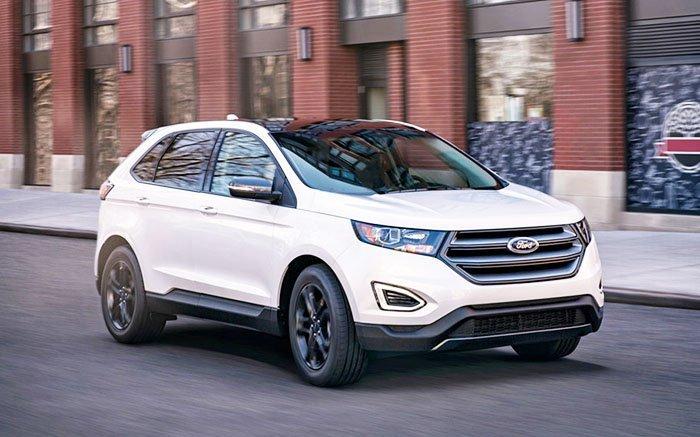 Ford Edge 2018 - Gợi ý những dòng xe hơi mới, tốt nhất năm 2018 cho mọi gia đình