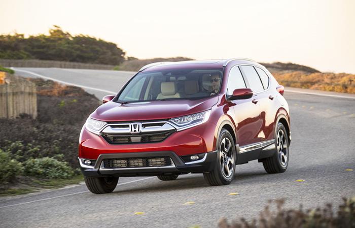 Honda CR V 2018 - Gợi ý những dòng xe hơi mới, tốt nhất năm 2018 cho mọi gia đình