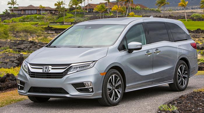 Honda Odyssey 2018 - Gợi ý những dòng xe hơi mới, tốt nhất năm 2018 cho mọi gia đình